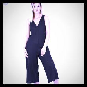 Zara black pantsuit romper